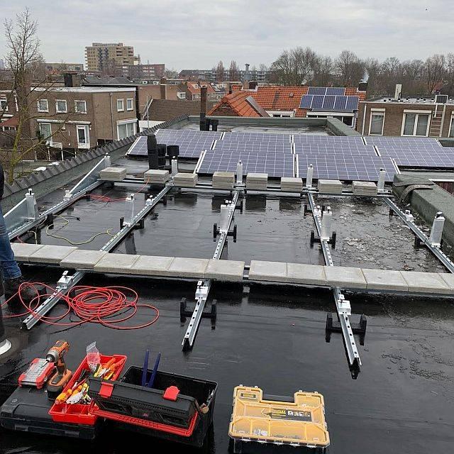 Amperum Eindhoven de van der Valk onderconstructie